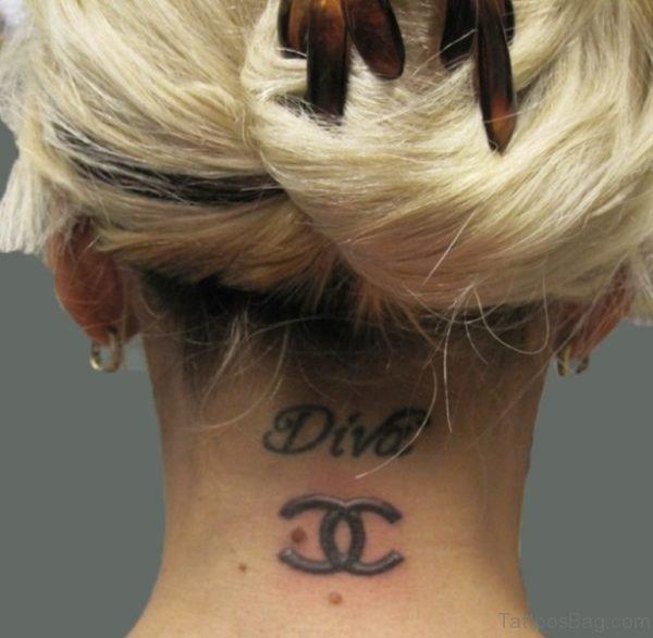 Tattoo Design On Neck