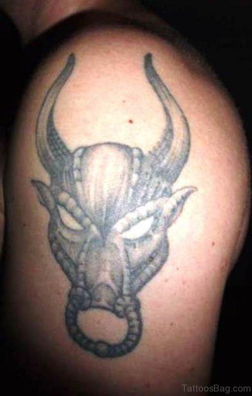 Taurus Tattoo Design