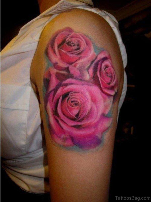 Three Roses Tattoo Design