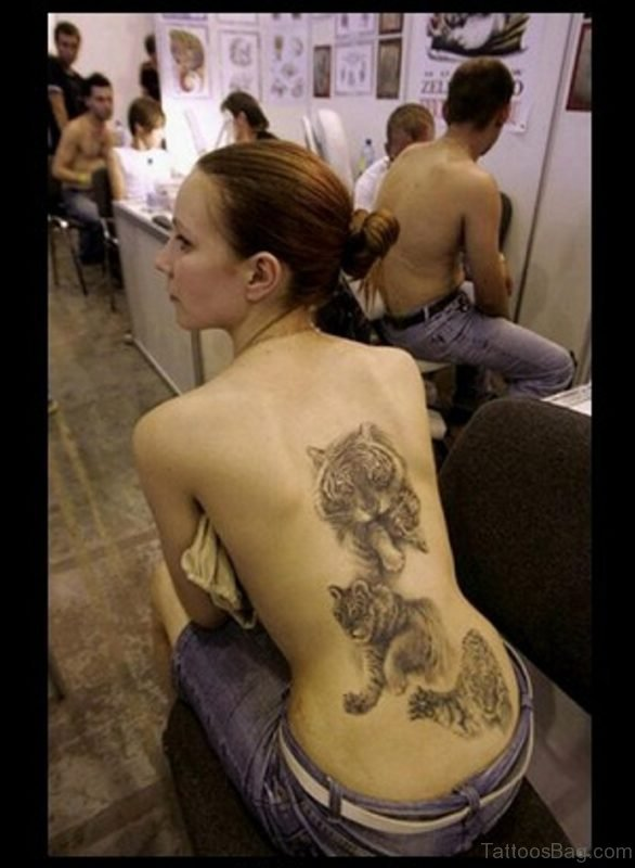 Tiger Tattoo For Women