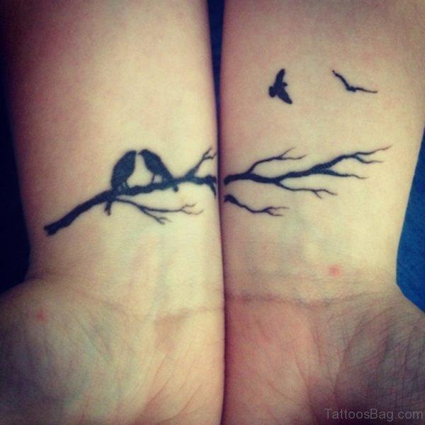 Tiny Birds Tattoo