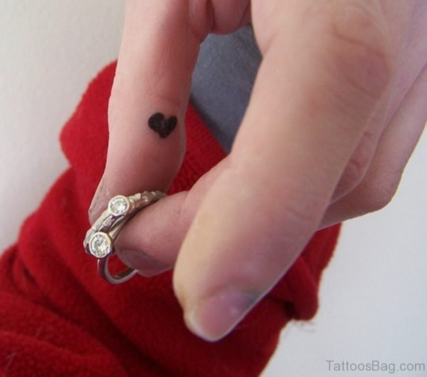 Tiny Heart Tattoo