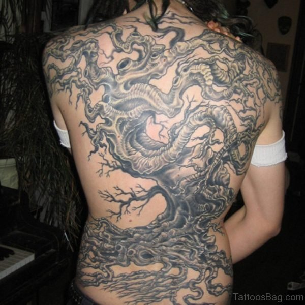 Nice Tree Tattoo