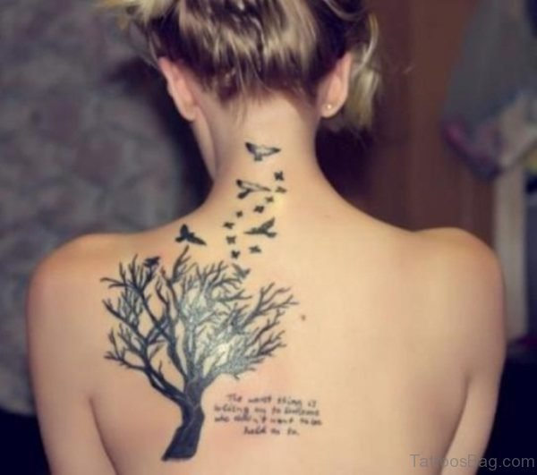 Tree Tattoo For Women