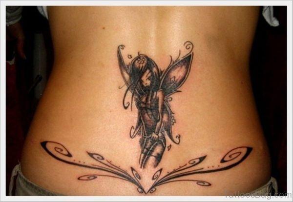 Tribal And Fairy Tattoo