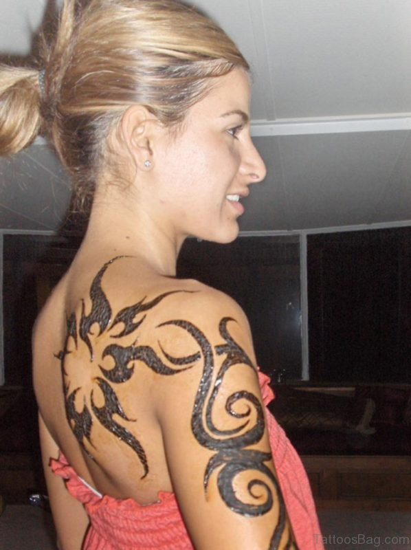 Tribal Tattoo For Girls
