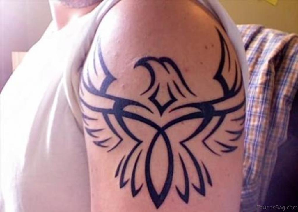 57 magnifying viking tribal shoulder tattoos for Tribal eagle tattoos