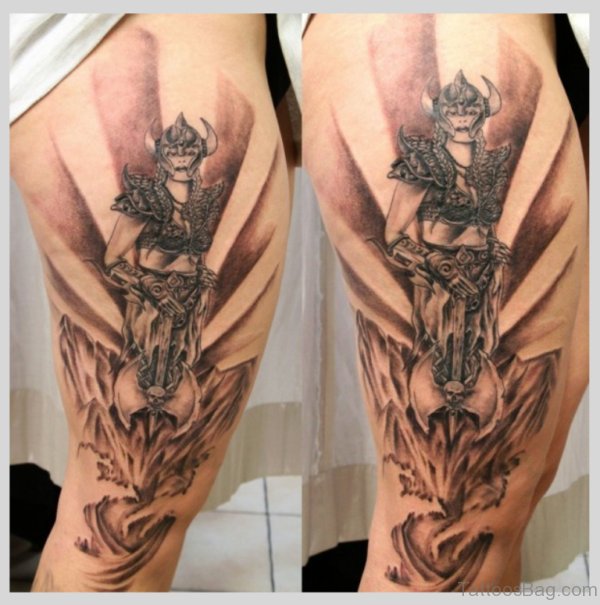 Tribal Viking Tattoo