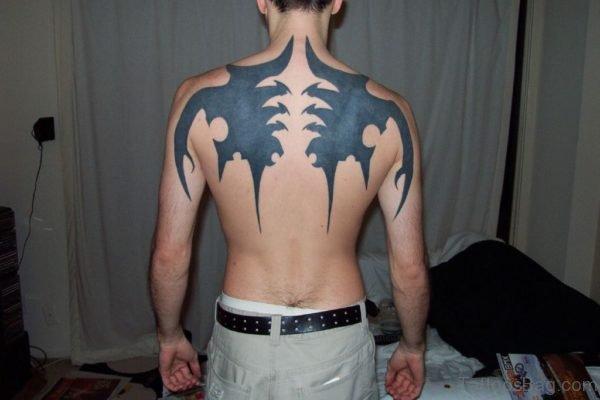 Tribal Wings Tattoo