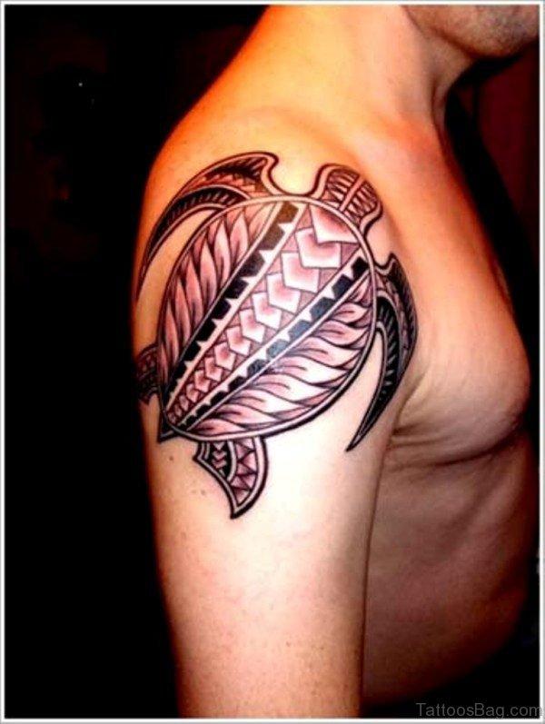 Turtle Tribal Tattoo