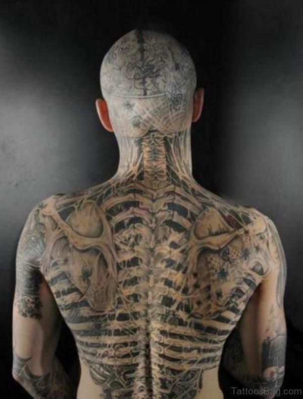 Unique Biomechanical Tattoo