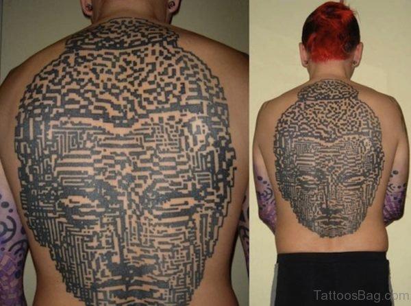 Unique Buddha Tattoo