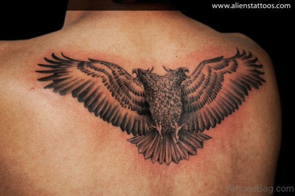 Unique Eagle Tattoo
