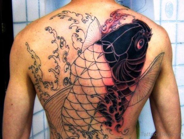 Unique Fish Tattoo