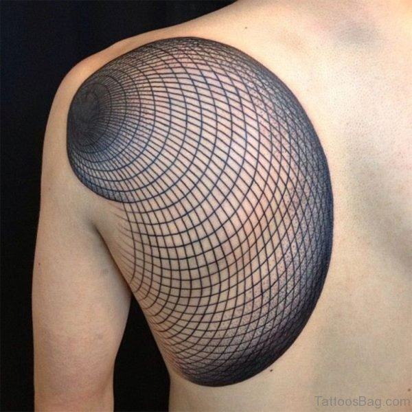 Unique Geometric Tattoo