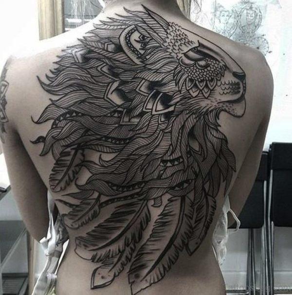 Unique Lion Tattoo