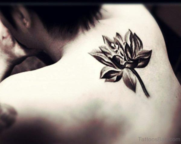 Unique Lotus Tattoo