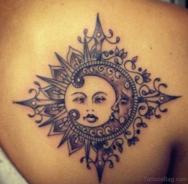 Unique  Sun Tattoo