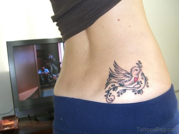 Unique Swallow Tattoo Design