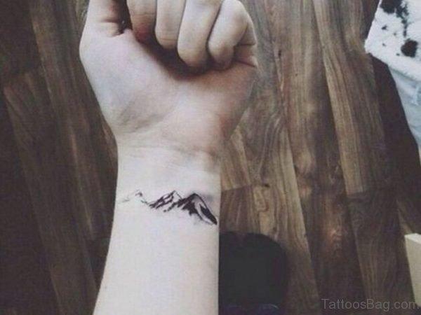 Unique Wrist Tattoo