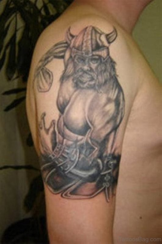 Viking Black Tattoo