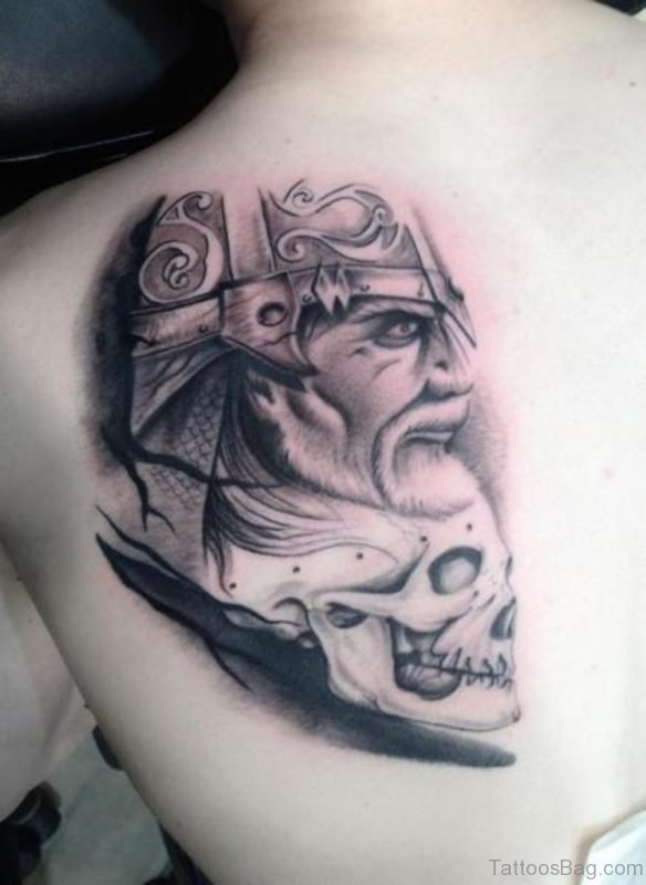 Viking Skull Tattoo