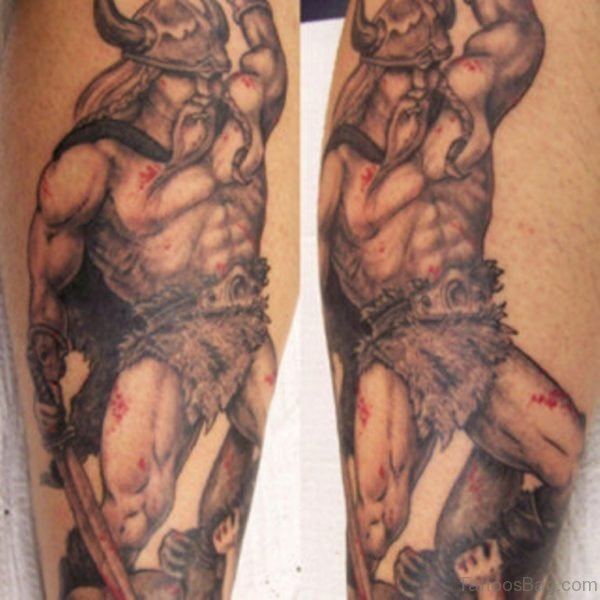 Viking Tattoo Design