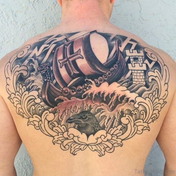 Viking Tattoo On Back