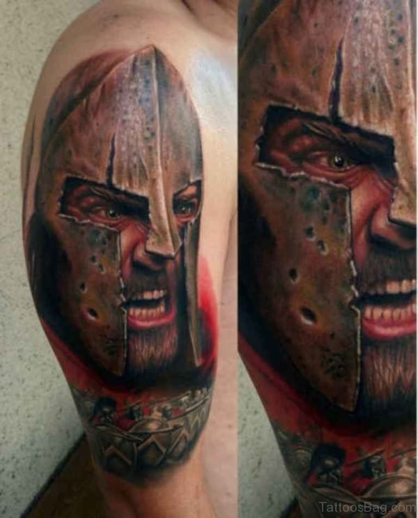 Warrior Tribal Viking Tattoo