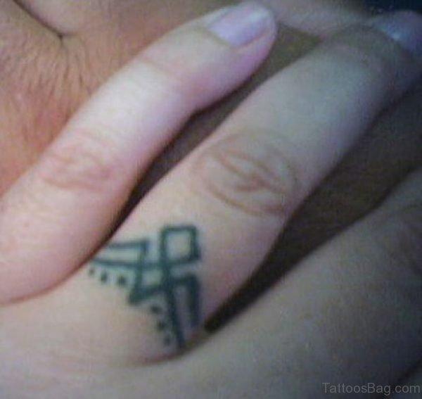 Wedding Finger Tattoo