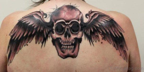 Winged Skull Tattoo