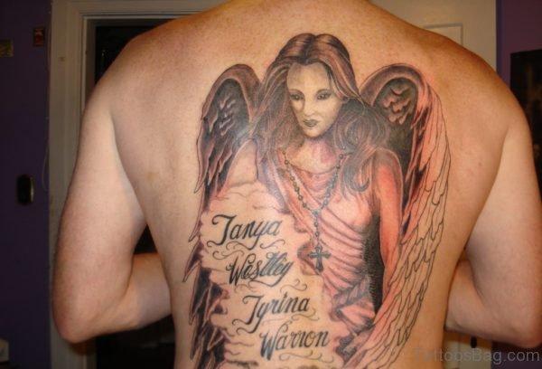 Wonderful Angel Tattoo