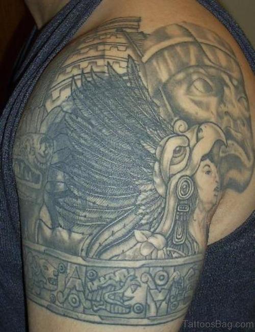 Wonderful Aztec Tattoo