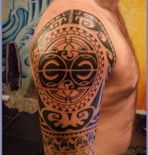 Wonderful Aztec Tattoo Design