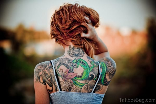Wonderful Back Tattoo