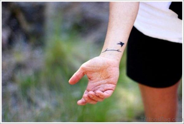 Wonderful Bird Tattoo
