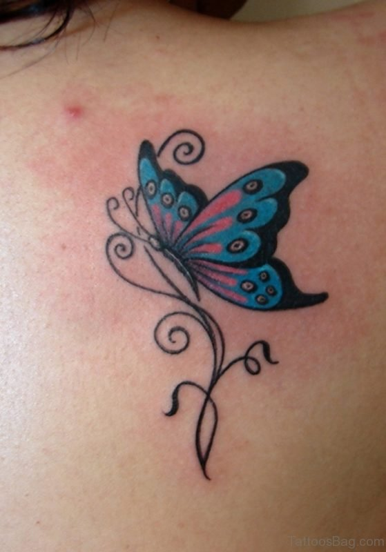 Wonderful Butterfly Tattoo