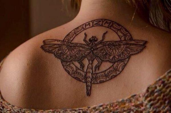 Wonderful  Dragonfly Tattoo