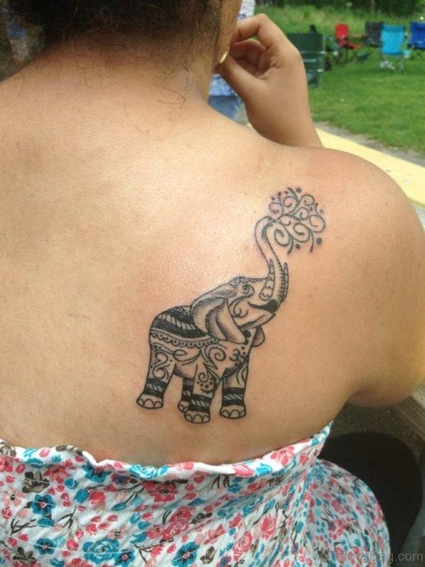 Wonderful Elephant Tattoo