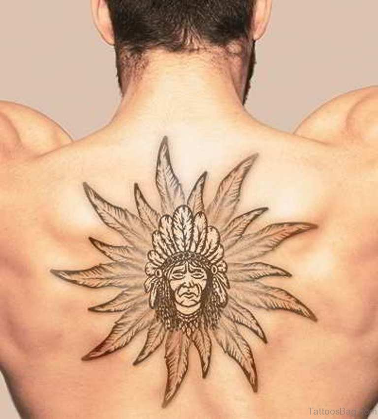 489f1d838 59 Outrageous Feather Tattoos On Back