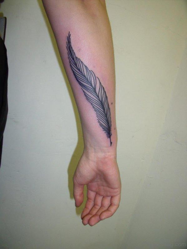 Wonderful Feather Tattoo