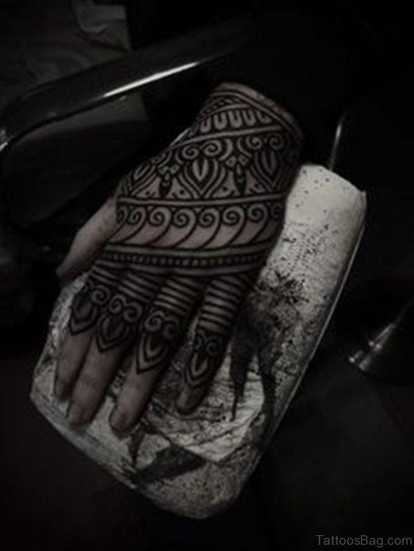 Wonderful Geometric Tattoo