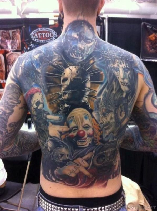Wonderful Horror Tattoo