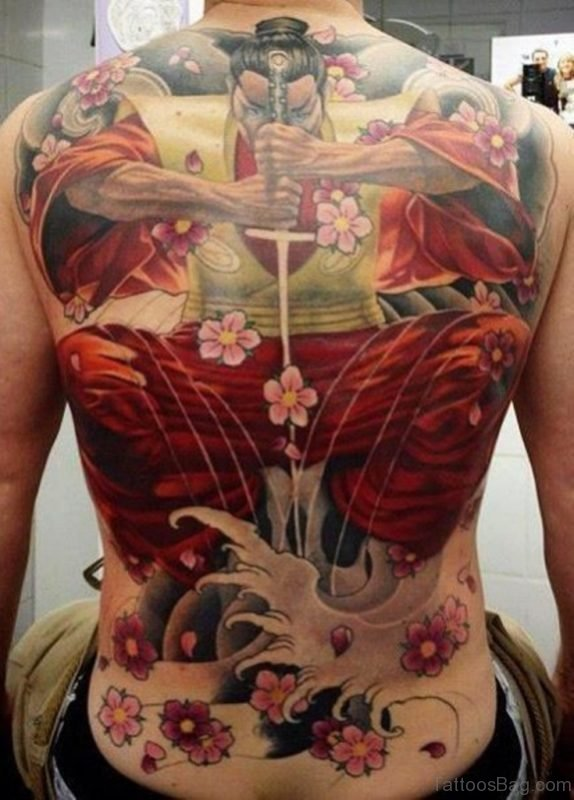 Wonderful Japanese Samurai Tattoo