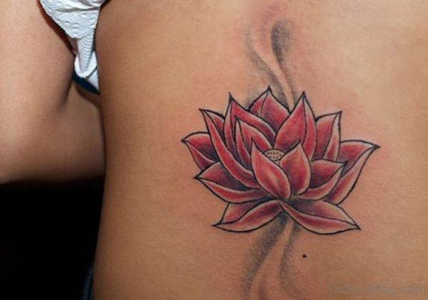 Wonderful Lotus Flower Tattoo