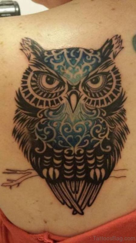 Wonderful Owl Tattoo