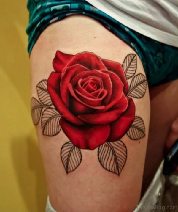 Wonderful Rose Tattoo