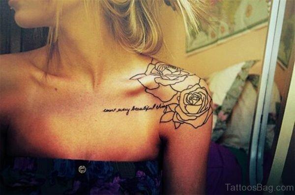 Wonderful Roses Tattoo Design