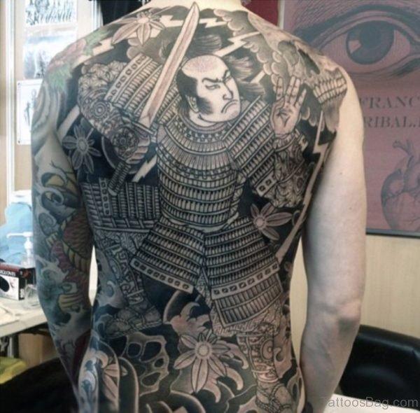 Wonderful Samurai Tattoo