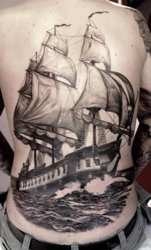 Wonderful Ship Tattoo